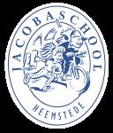 20130822 Jacobaschool - logo blauw-wit